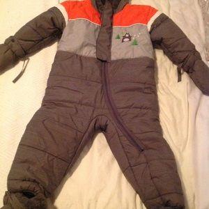 One piece winter suit 24 months